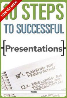 [Tóm tắt sách] Mười bước để có buổi thuyết trình ảo thành công