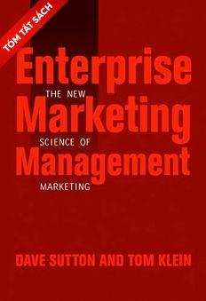 [Tóm tắt sách] - Quản lý marketing doanh nghiệp