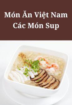 Món ăn Việt Nam: Các món súp
