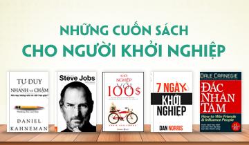10 Cuốn Sách Phải Đọc Dành Cho Người Khởi Nghiệp